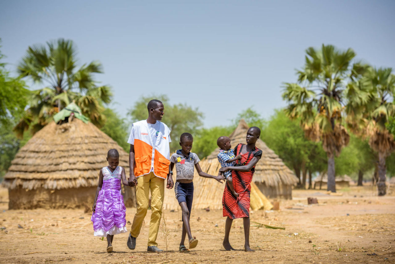Pray for South Sudan: Join us in praying Psalm 34:14 over the people of South Sudan.