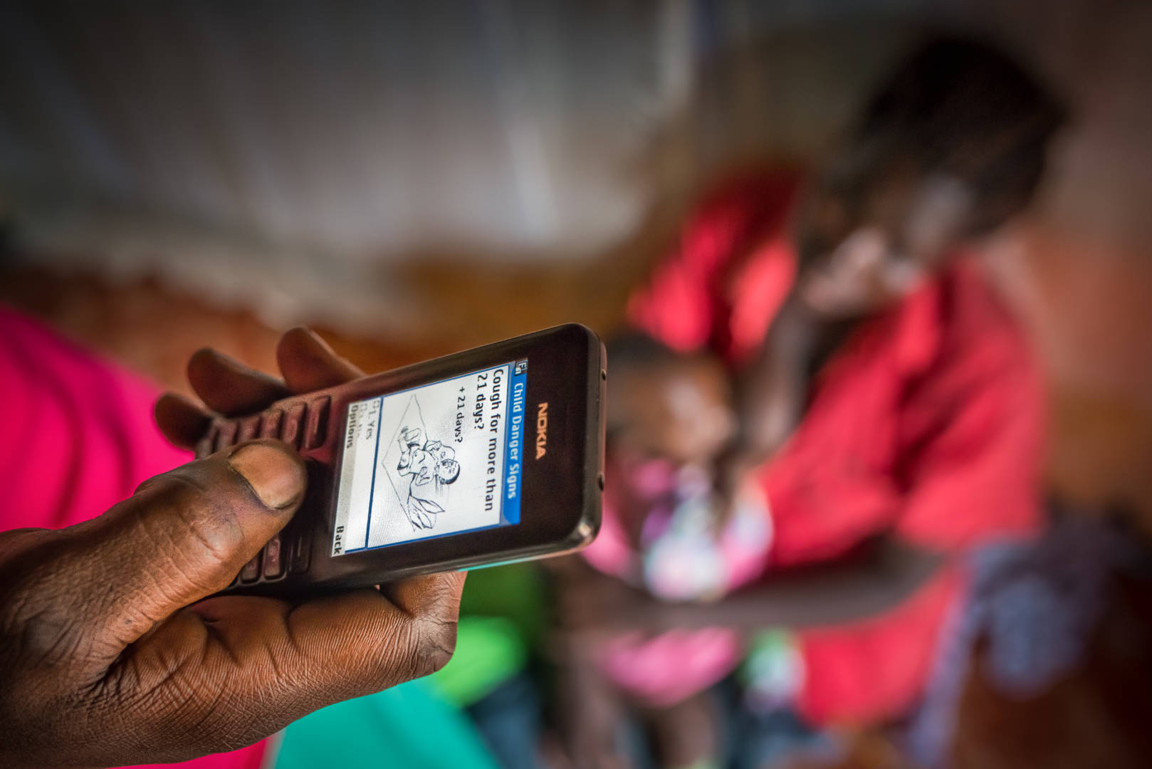 Mobile health technology gives World Vision an unrivalled opportunity to improve people's health, especially in countries where access to healthcare is severly limited.