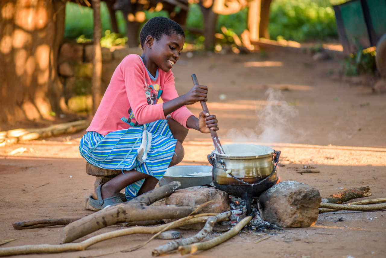 Rosemary doesn't know the hunger and hardship her family did. She has hope and dreams of being a chef.