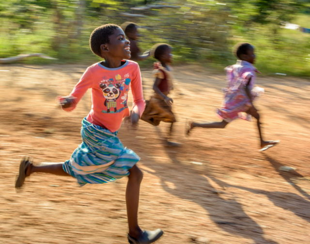 Rosemary, 9, from Zambia was helped by a gift of goats from the Gift Catalog. PHOTO: World Vision.