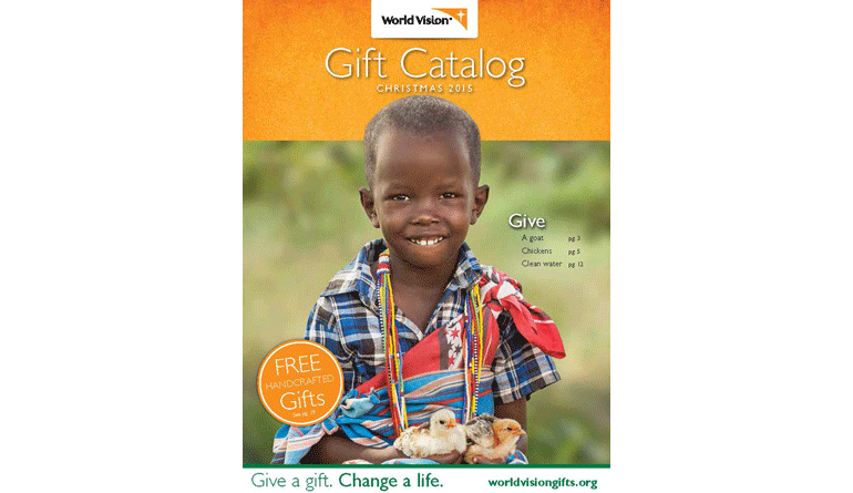 Amazing World Vision Christmas Gifts Part - 7: World Vision 2015 Gift Catalog (cover)