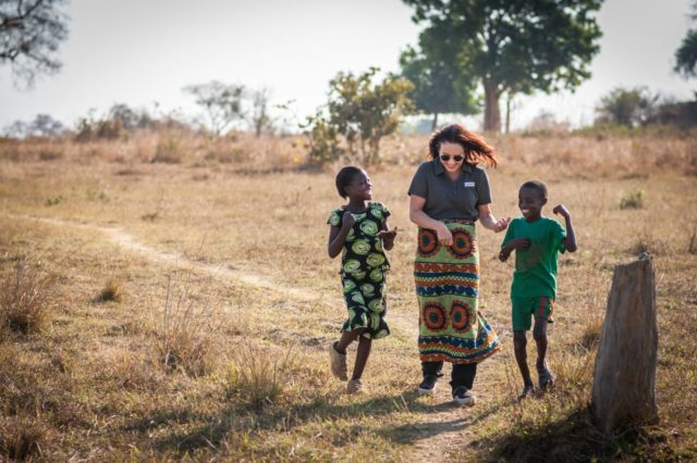 Patricia Heaton in Zambia