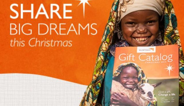 Give a last minute gift with meanting through World Vision's 2015 Gift Catalog.