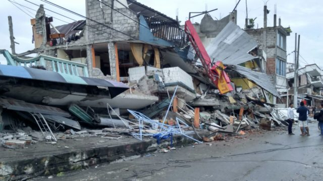 Ecuador's worst earthquake in decades hit Saturday, devastating the South American country. World Vision began responding immediately.