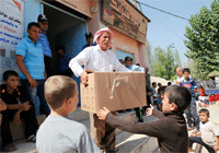 Disaster response in Iraq