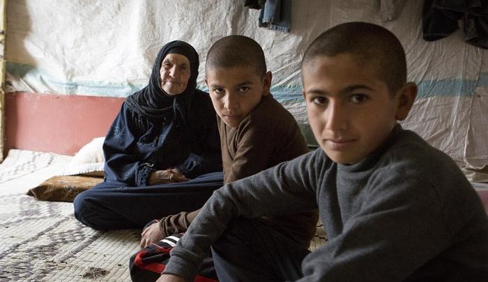 Syrian refugee children in Lebanon