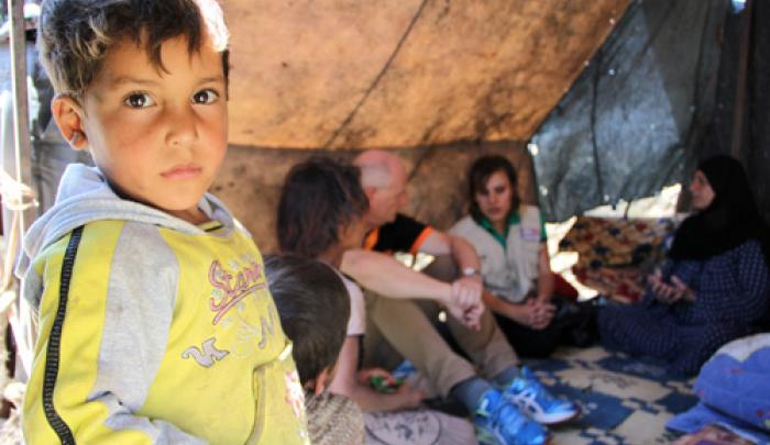 Refugees from Syria have flooded into Lebanon and tensions are at a tipping point.