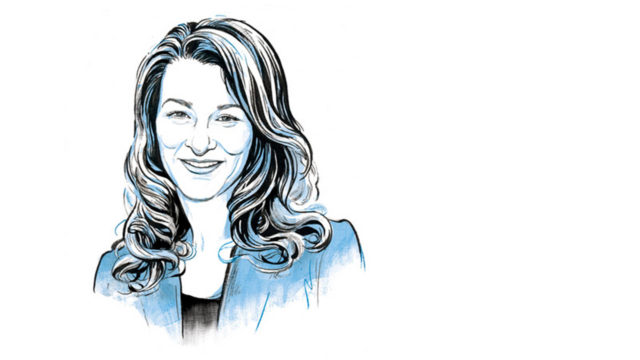 Melinda Gates is co-chair of the Bill & Melinda Gates Foundation.