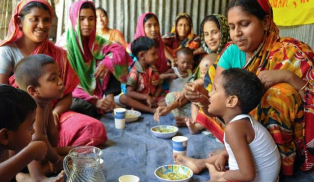 With World Vision's assistance, communities in Bangladesh are taking responsibility for sustainably rehabilitating thousands of seriously malnourished children.