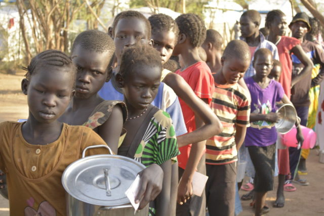 The violence in South Sudan's Unity State has left thousands dead, hundreds of thousands displaced, of these are thousands of children afflicted by the violence. At the Kenya's Kakuma refugee camp, an estimated 5,000 children had arrived by mid-January. PHOTO: World Vision / Lucy Murunga