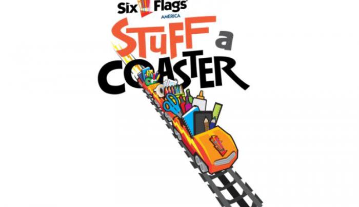 Six Flags America - Stuff a Coaster campaign