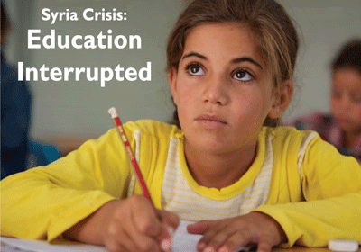 Syria Crisis: Education Interrupted (Joint Report PDF)