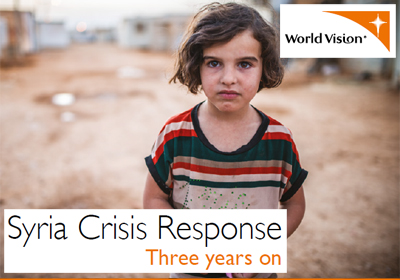 Syria Crisis Response, 3 Years on: Impact Report (thumbnail image from cover)