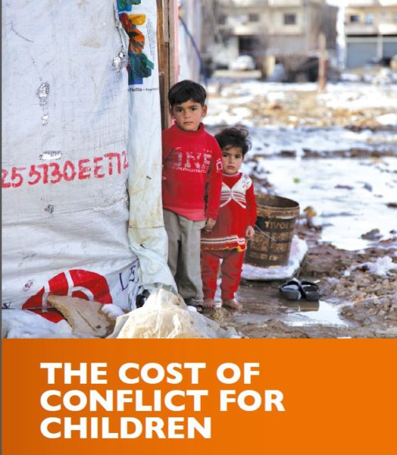 The Cost of Conflict for Children: Five years of the Syria crisis