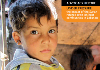 Under Pressure: Advocacy Report for Syria's Children (PDF)