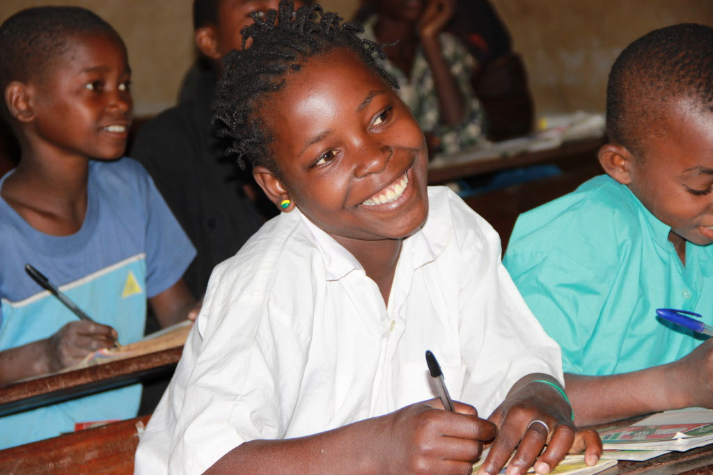 In Mozambique, Belita, 14, narrowly escaped child marriage. One out of girls in dveloping countries marry before age 18.