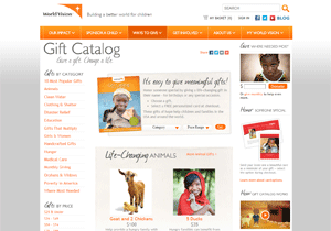 World Vision Gift Catalog Online - http://www.WorldVisionGifts.org/