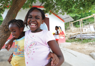 """Thumbnail from """"Two years on: Haiti earthquake response"""" report"""