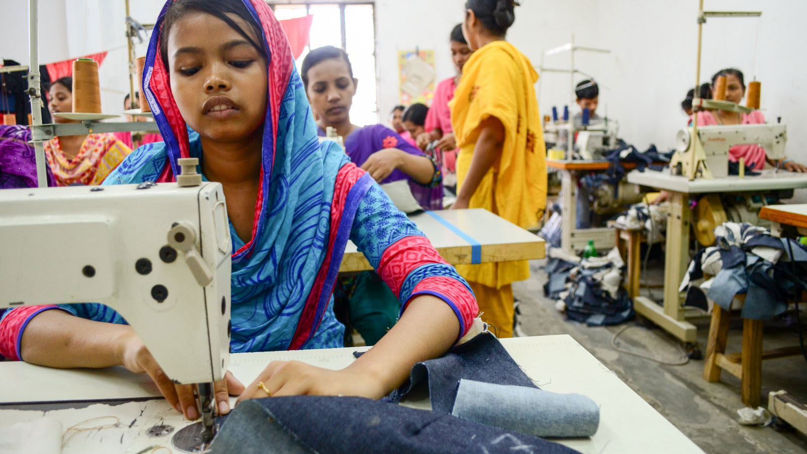 A look at child labor inside a garment factory | World Vision