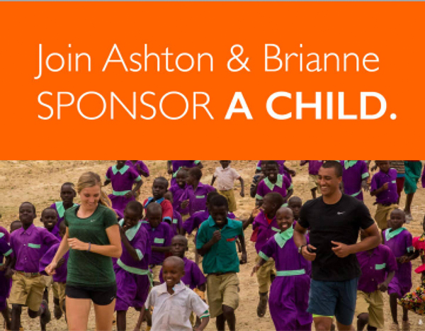 ©2016 World Vision, Ashton Eaton Celebrity Ambassador