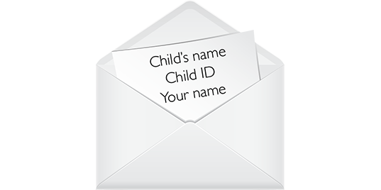 Sending a letter or package world vision how to address your envelope ccuart Gallery