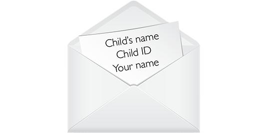 sending a letter or package world vision