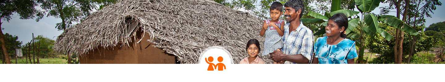 gender equality work, family ©World Vision, Gary Dowd