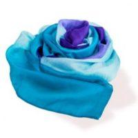 handcrafted Vietnamese silk scarf