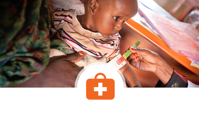 Our work in health, healthcare, improving nutrition, hunger, malnutrition ©World Vision
