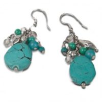 give turquoise earrings