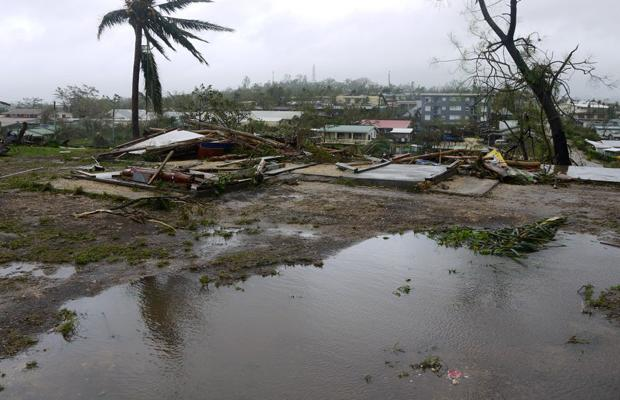 On March 13, 2015, heavy winds and rain from Category 5 Cyclone Pam struck Vanuatu, a string of South Pacific islands. Homes, schools, crops, and water systems were destroyed, affecting more than half of the population in one of the world's poorest countries. A massive recovery effort followed.